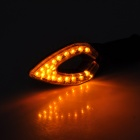 0.8W 100lm 580nm 20-LED Yellow Light Motorcycle Turn Signals Lamp (12V / 2 PCS)