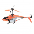 USB Rechargeable 3.5-CH Mini IR R/C Helicopter - Orange