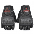 SCOYCO MC12D Half-Fingers Motorcycle Racing Gloves - Black (Size XL)