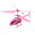 USB Rechargeable 3.5-CH Mini IR R/C Helicopter - Pink