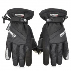 SCOYCO MC18 Waterproof Capacitive Screen Touch Motorcycle Racing Gloves - Black ( L Size)