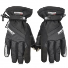 SCOYCO MC18 Waterproof Capacitive Screen Touch Motorcycle Racing Gloves - Black ( XL Size)