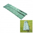 aotu396 Folding Outdoor Auto Air Inflatable Mattress / Cushion w/ Pillow - Dark Green