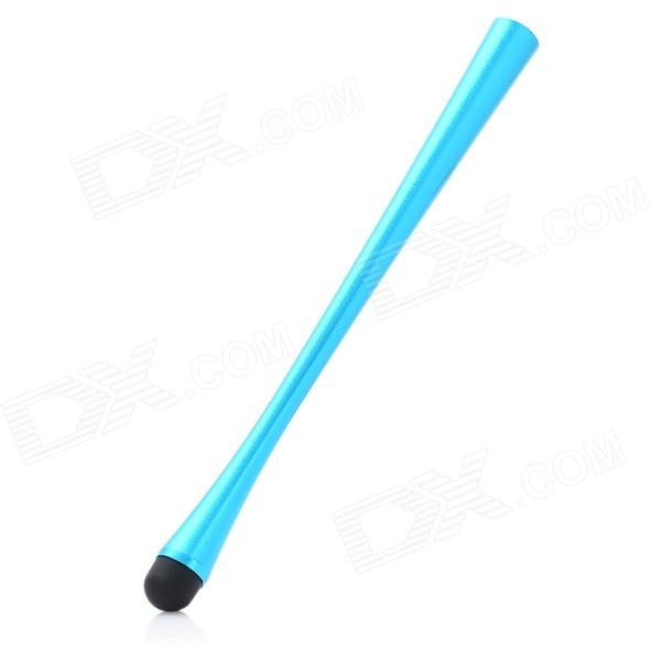 Small Petty Waist Shape Aluminum Alloy Capacitive Stylus Pen for Ipad / Iphone / Ipod - Blue
