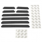Car Crash Barriers Door Guard Strip Protectors - Black (8PCS)