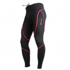 NUCKILY NS903-W Bicycle Riding Sports Pants / Trousers - Black (Size XXL)