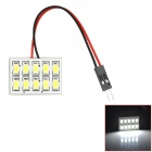 RL13121016 BA9S / T10 / Festoon 5W 450lm 10-SMD 5630 LED White Light Car Tail / Reading Lamp - (12V)