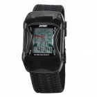Car Style Water Resistant Wrist Watch for Children - Black (1 x 2105 Battery)