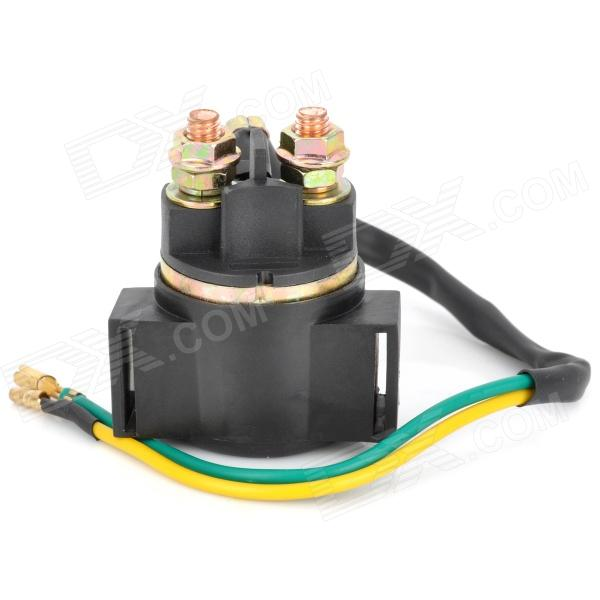 ChuangYaTe ZJ125 Motorcycle Relay for Honda ZJ125 - Black + Bronze (DC 12V) citizen ep6050 17e