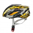 PROWELL F-59R Outdoor Sports Cycling 18-Vent EPU Helmet w/ Reflective Stripe - Yellow + Black