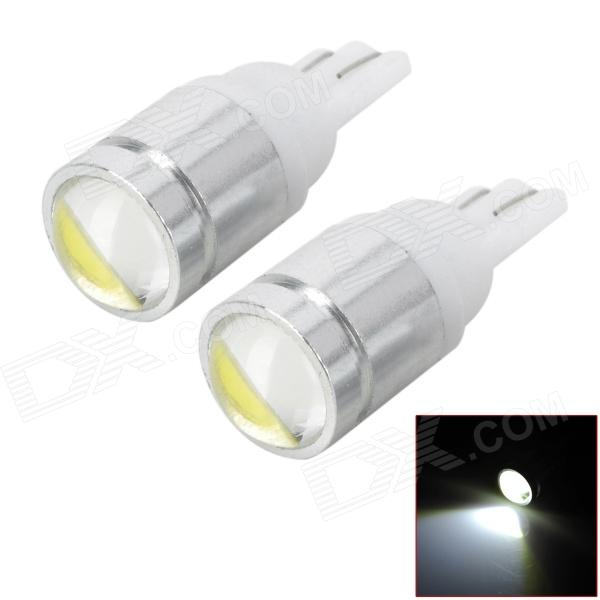 T10 3W 200lm LED White Car Width / Reading / Instrument Lamps (2PCS)