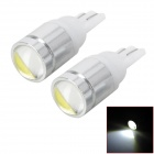 T10 3W 200lm LED White Car Width / Reading / Instrument Lamps (2 PCS)
