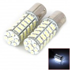 11561210-68W 1156 4.5W 250lm 68-SMD 3528 LED White Light Car Light - (DC 12V / 2 PCS)