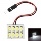 RL13121013 T10 + BA9S + Festoon 4W 300~400lm 8-SMD 5630 LED White Car Tail / Reading Lamp