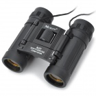 Handy 8x21 Black Binoculars Rubber Fold-down Eyecups (383FT/1000YDS)