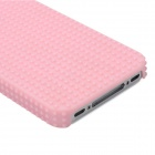 Fashionable Design Protective Plastic Back Case for Iphone 4 / 4S - Pink