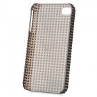 Fashionable Design Protective Plastic Back Case for Iphone 4 / 4S - Black