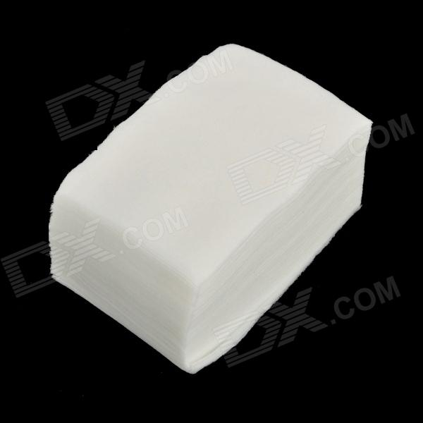 Dust-Free Make UP Removing Cotton Pad - White (100PCS - Pack)