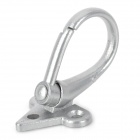 Replacement Motorcycle Aluminum Alloy Helmet Hook - Silver