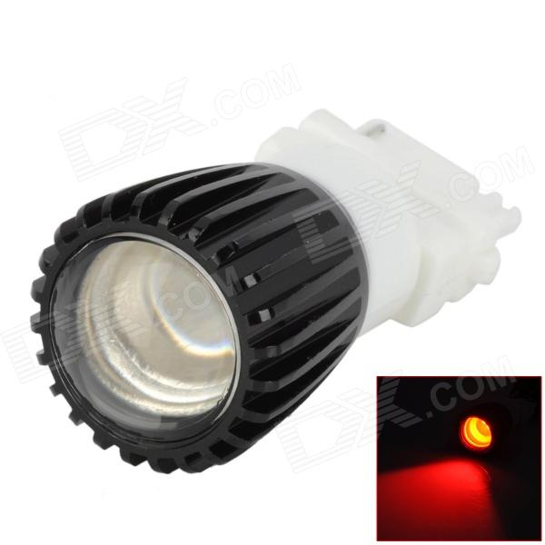 DF3157152882 3157 3W 200lm 635~700nm 1-SMD LED Red Light Car Brake Light - (DC 12V)