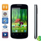 ZTE V889M 4.0'' Touch Screen Android 4.0. Dual-Core Bar Cellphone w/ Wi-Fi+ - Black