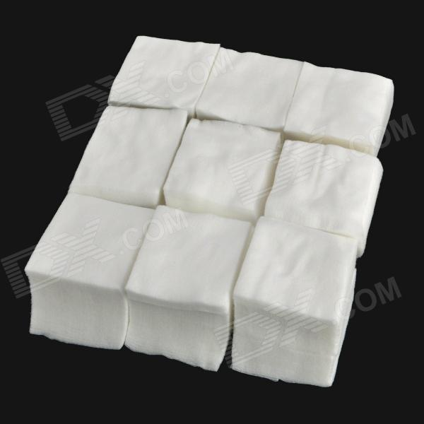 Dust-Free Super Thin Make UP Removing Cotton Pad - White (1200PCS - Pack)