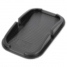 SD-1029 Car Bendable PU Skidproof Mat for Iphone / Cell Phone / Cigarette / Coin / Map - Black