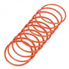 Motorcycle Dynamo Rubber O-ring - Red (10PCS)