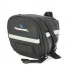 ROSWHEEL 13196 Bicycle Storage Tail Bag - Black