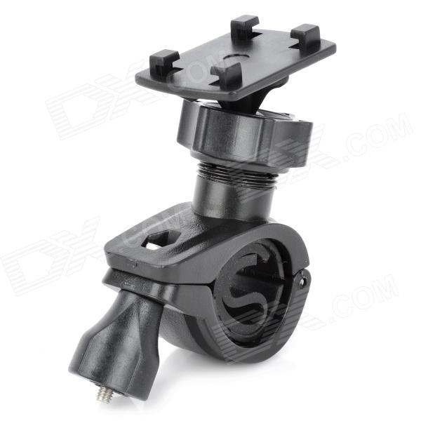 Universal Motorcycle Bicycle Holder for GPS / Cell Phone - Black universal swivel tripod stand holder for cell phone camera black
