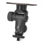 LSON ZT03-C 360 Degrees Swivel Mount Holder w/ Sticker for GPS / Cell Phone - Black