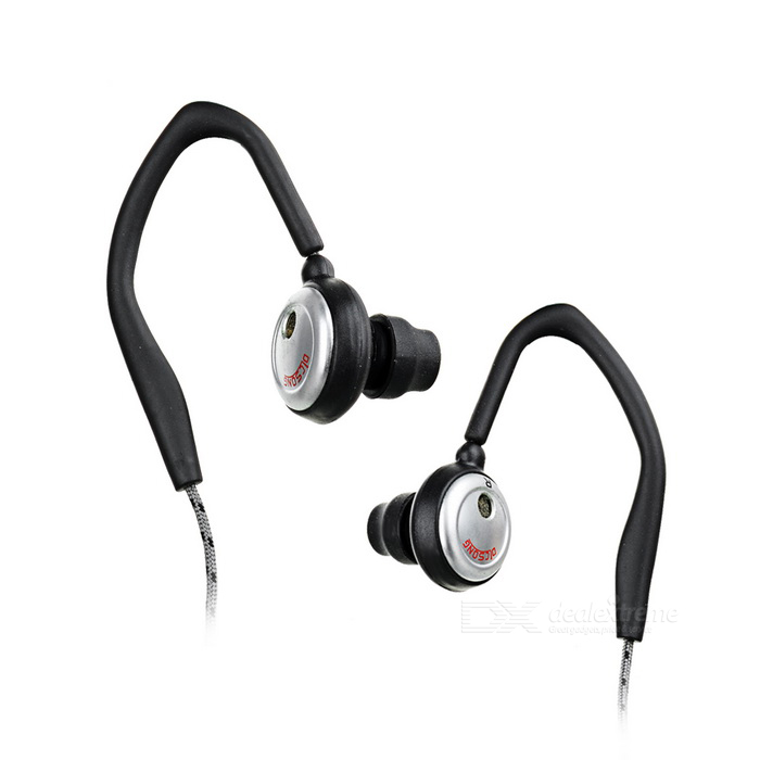 Power Bass Clip-on Earbuds (1.2-Meter Cable)