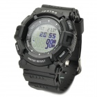 Spovan blade-IV-A Outdoor Sport PU Band Digital Wrist Watch w/ Altimeter + Barometer + Temperature