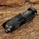 SingFire SF-117B CREE XM-L T6 700lm 3-Mode White Zooming Flashlight - Black (1 x AA / 1 x 14500)