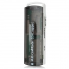 All-in-1 High Speed USB2.0 Card Read - Translucent Black + White