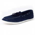PULL AND BEAR 3309 Outdoor Sports Suede Shoes for Males - Dark Blue (Size 42 / Pair)
