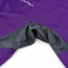 NUCKILY Ultra-Thin Water-Proof Cycling Long Sleeve Windbreaker for Women - Purple (Size-M)