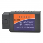 LSON ELM327A Bluetooth OBD0II Car Auto Diagnostic Interface - Black