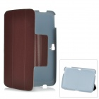 "Protective PU Leather + PC Case for Google 10.1"" Tablets - Brown"