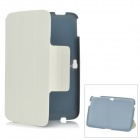 Protective PU Leather Case for Google 10.1'' Tablet PC - White