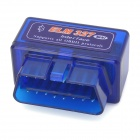 LSON ELM327C Super Mini V1.5 Bluetooth OBD-II Car Auto Diagnostic Scanner Tool - Blue