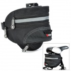 KUGAI 13015 Rainproof Bicycle Scalable Tail Bag - Black