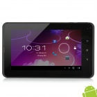 "L27-7""Capacitive Touch Screen Tablet PC w/ 2G Phone Call + Bluetooth + Dual Camera- Black + White"