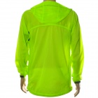 NUCKILY NY0923 Ultrathin Anti-UV Water Resistant Windproof Jacket Coat - Fluorescent Green (L)