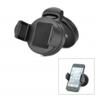 ihave Folding Car Windshield 360 Degree Rotating Mount Holder Stand for Iphone / Samsung - Black