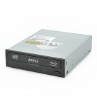 MSI DH-4OS 4X Sata Blu-Ray BD-ROM Disc ROM BD / DVD / CD Drive - Grey + Black