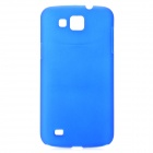 Protective Plastic Hard Back Case for Samsung i9260 Galaxy Premier - Blue