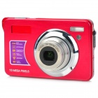 "BOQY CDOL3 2.7"" TFT 5MP CMOS 3X Optical Zoom Digital Camera w/ SD Slot - Red"