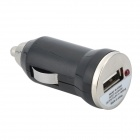 Car Charger w/ Micro USB Cable for Samsung S4 / i9500 + More - Black