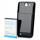 Replacement Back Cover + 6800mAh Li-ion Battery for Samsung Galaxy Note 2 N7100 - Black + White